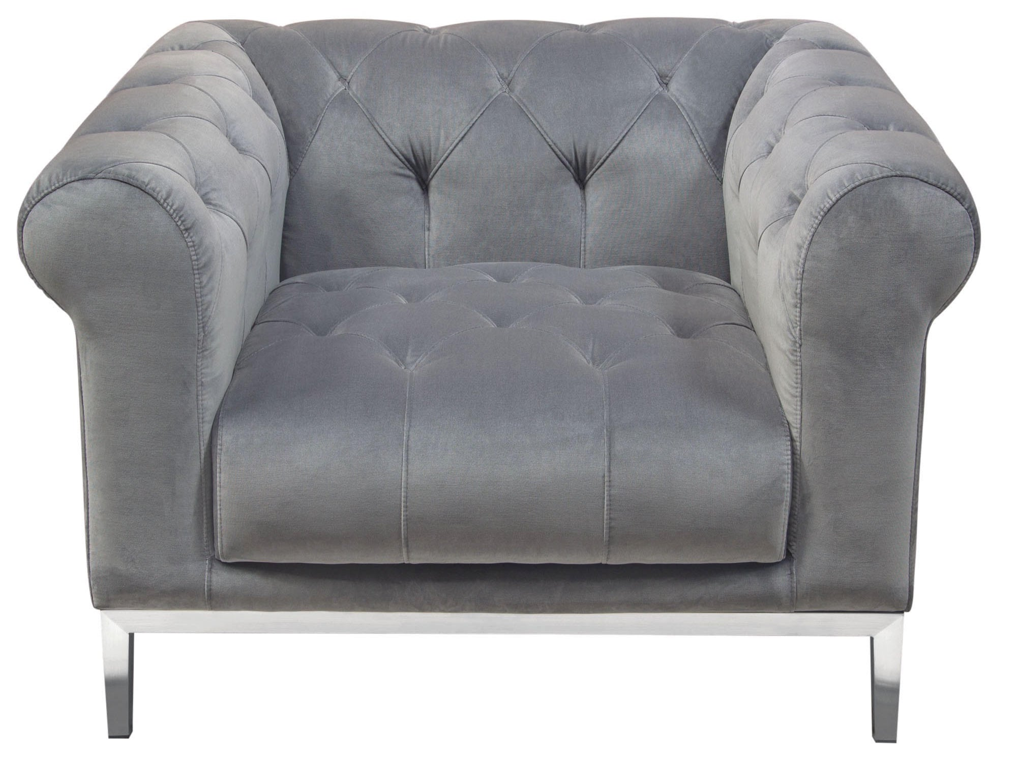 LONDON ARMCHAIR - PLATINUM GREY
