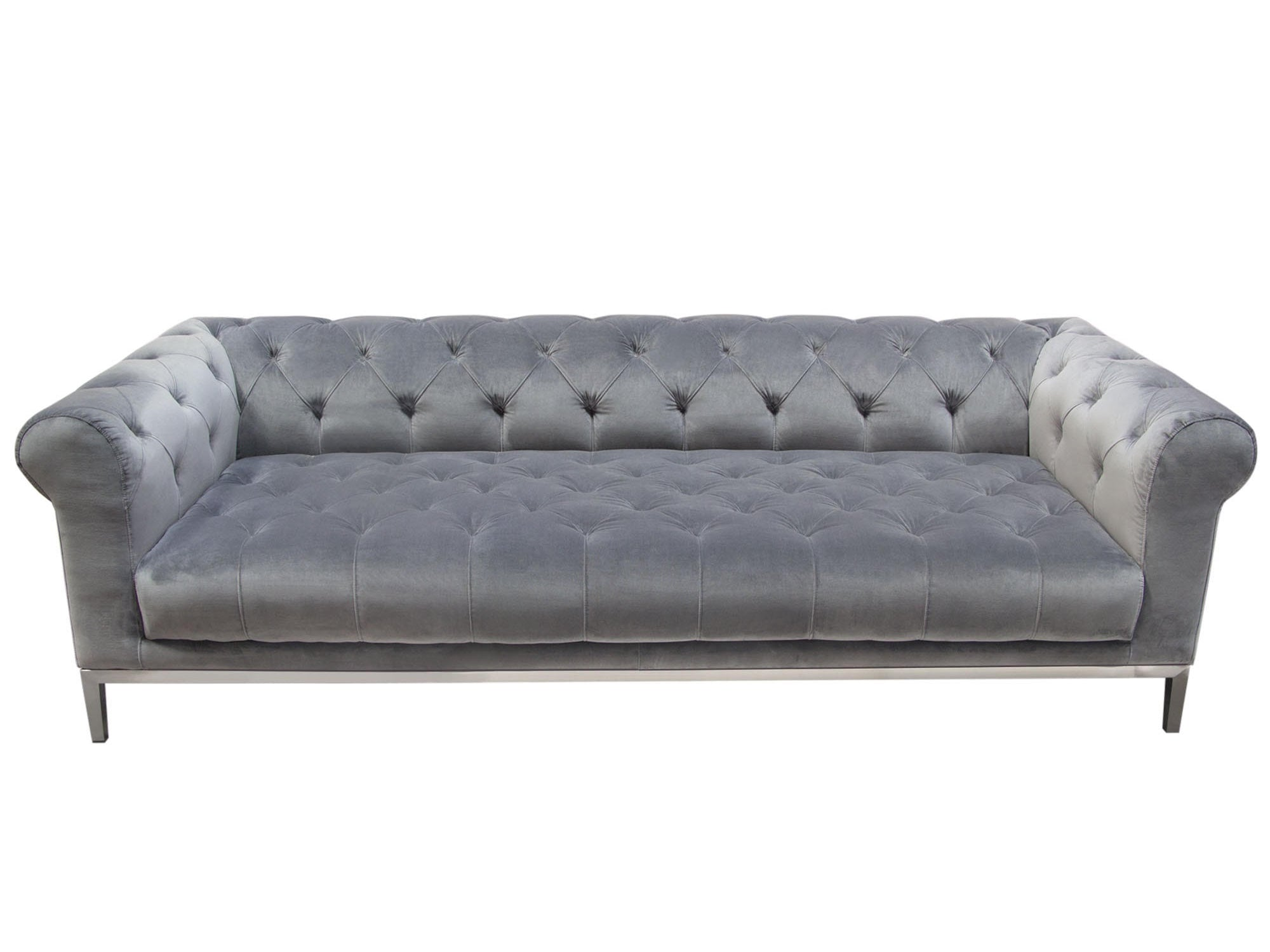 LONDON SOFA - PLATINUM GREY