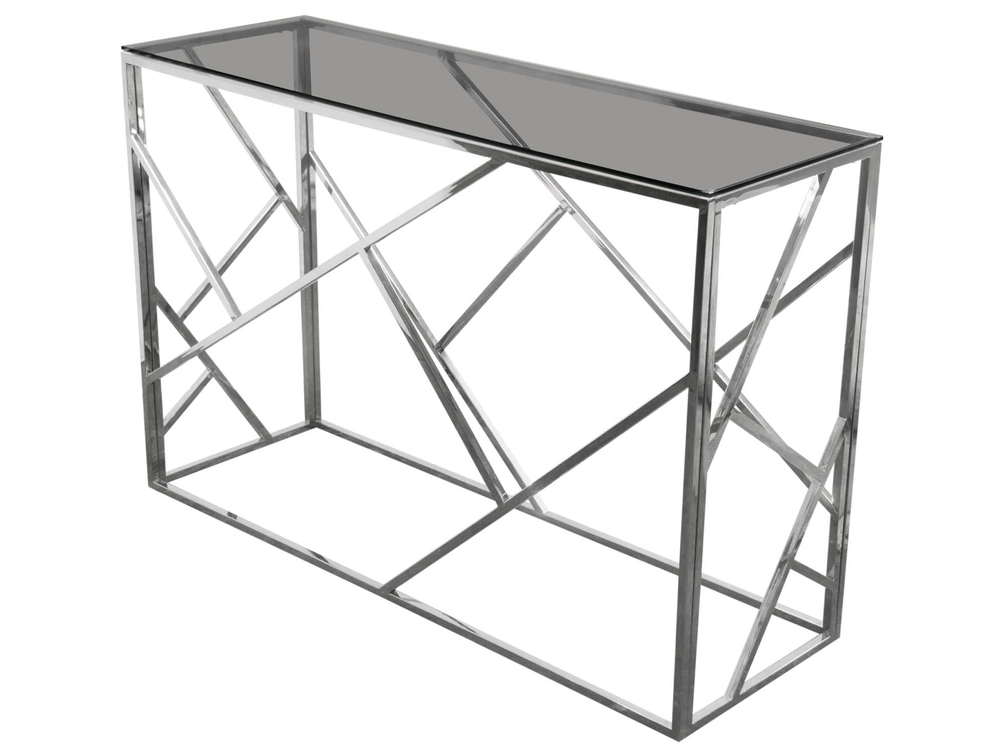 MOSAIC CONSOLE TABLE - SILVER