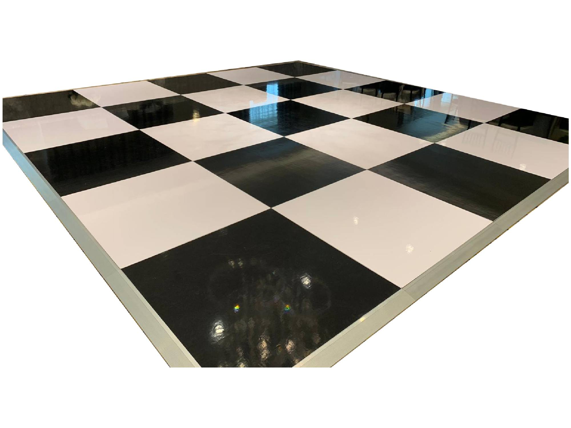 ACRYLIC DANCE FLOOR - CHECKERED
