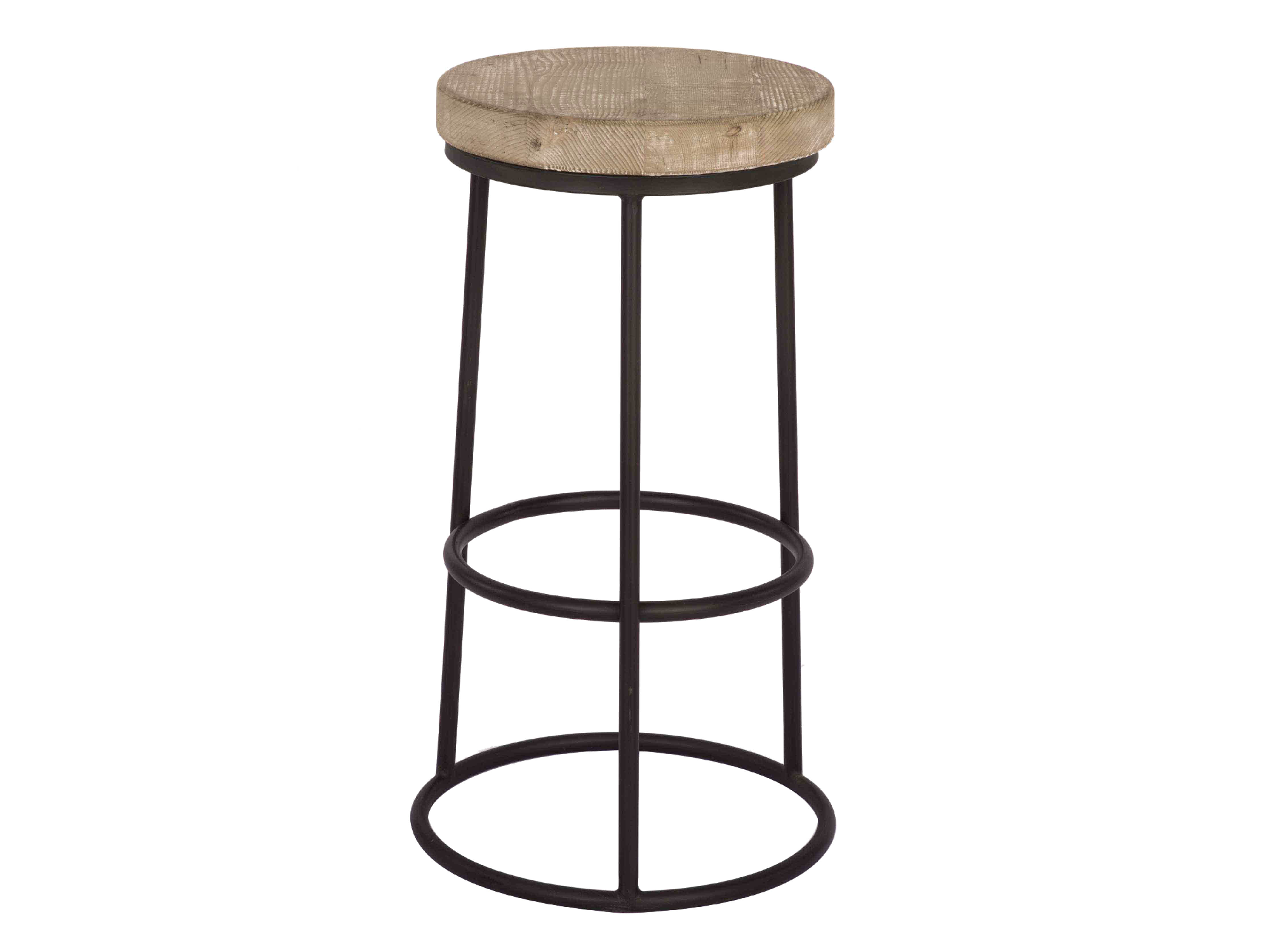 PONCE WOODEN BARSTOOL