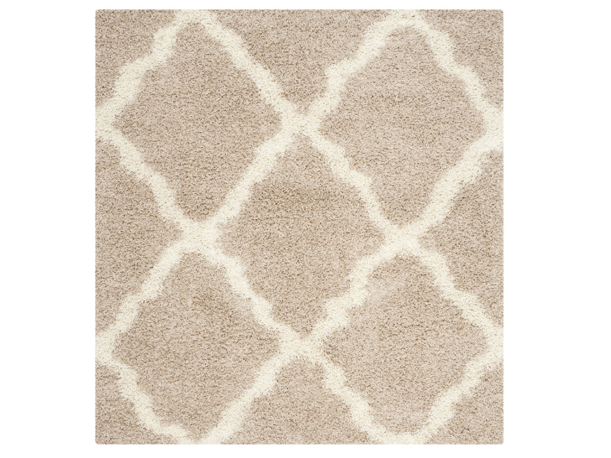 PATTERNED AREA RUG - IVORY | 8' x 10'