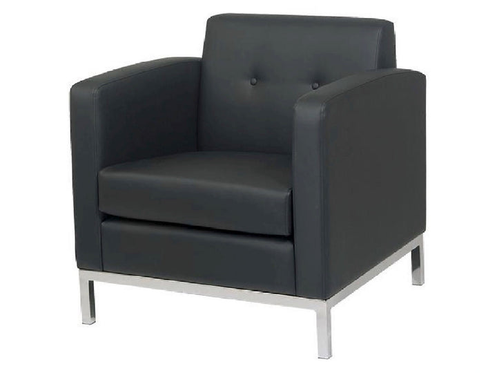 PEACHTREE ARMCHAIR - BLACK