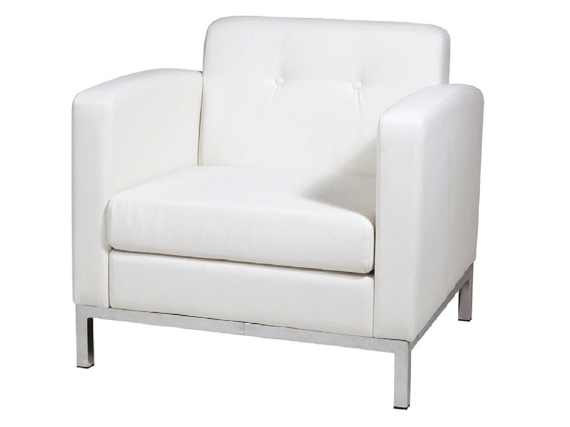 PEACHTREE ARMCHAIR - WHITE
