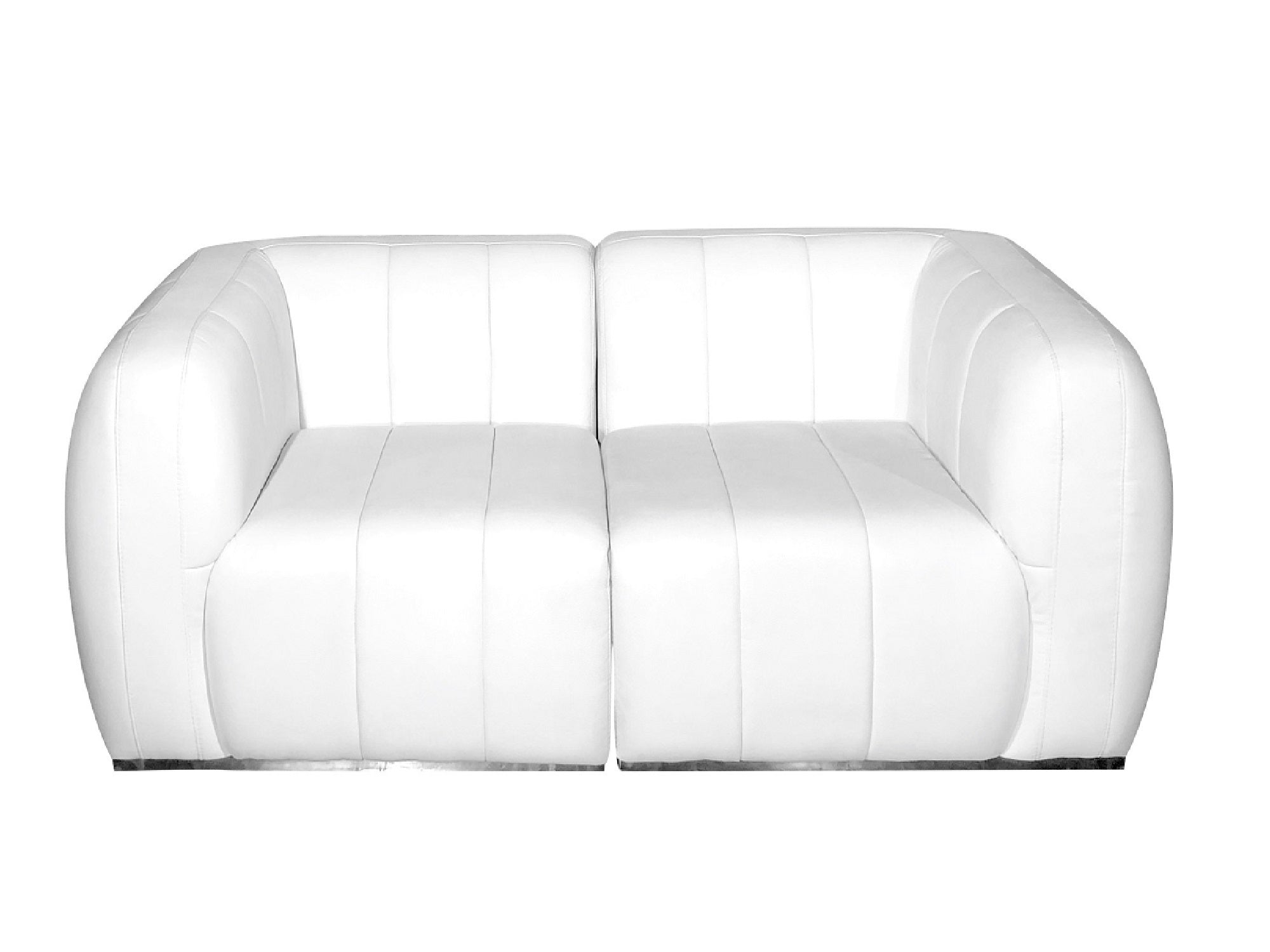 PLUSH 2PC SOFA