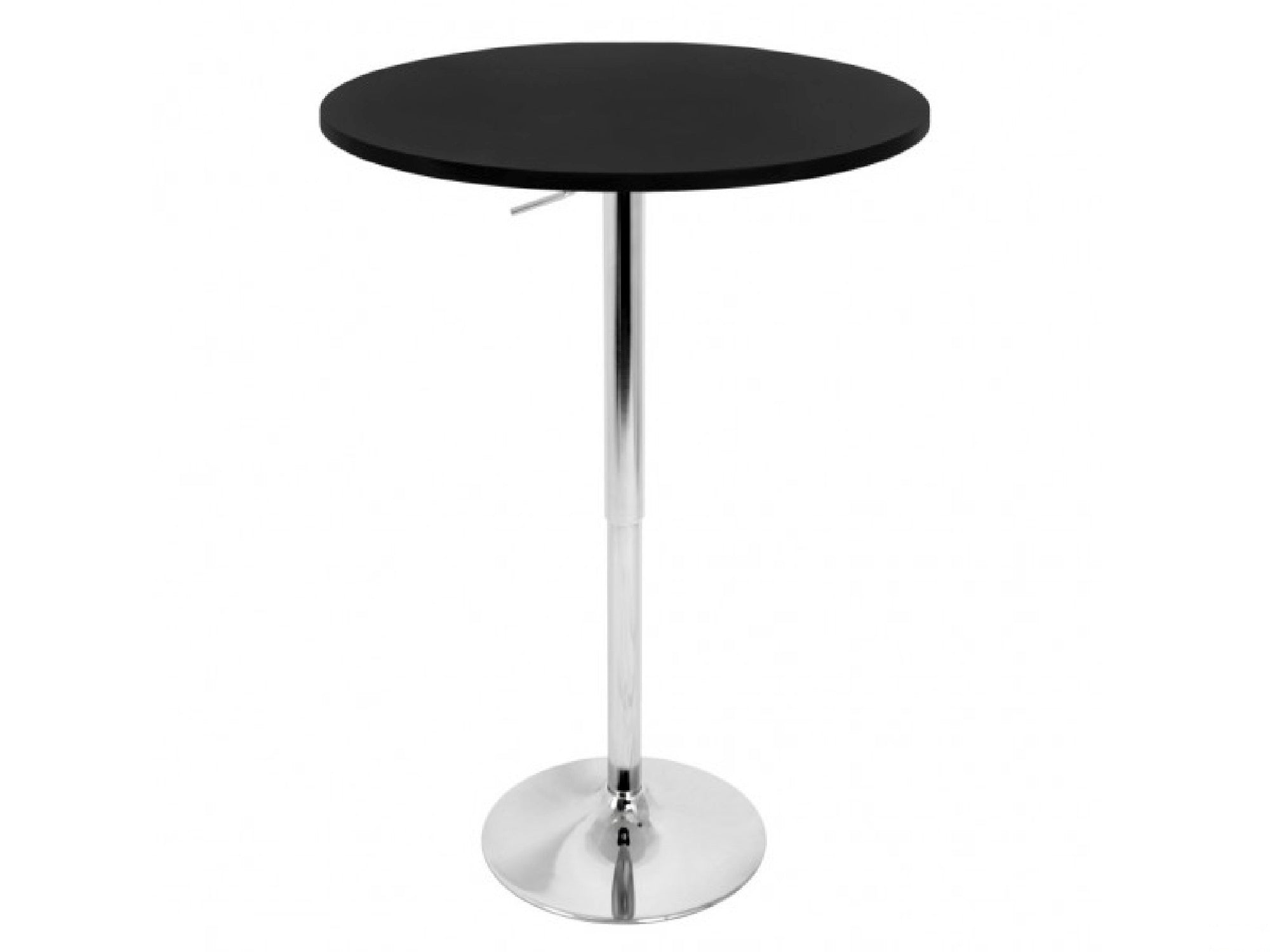 PUB COCKTAIL TABLE - BLACK