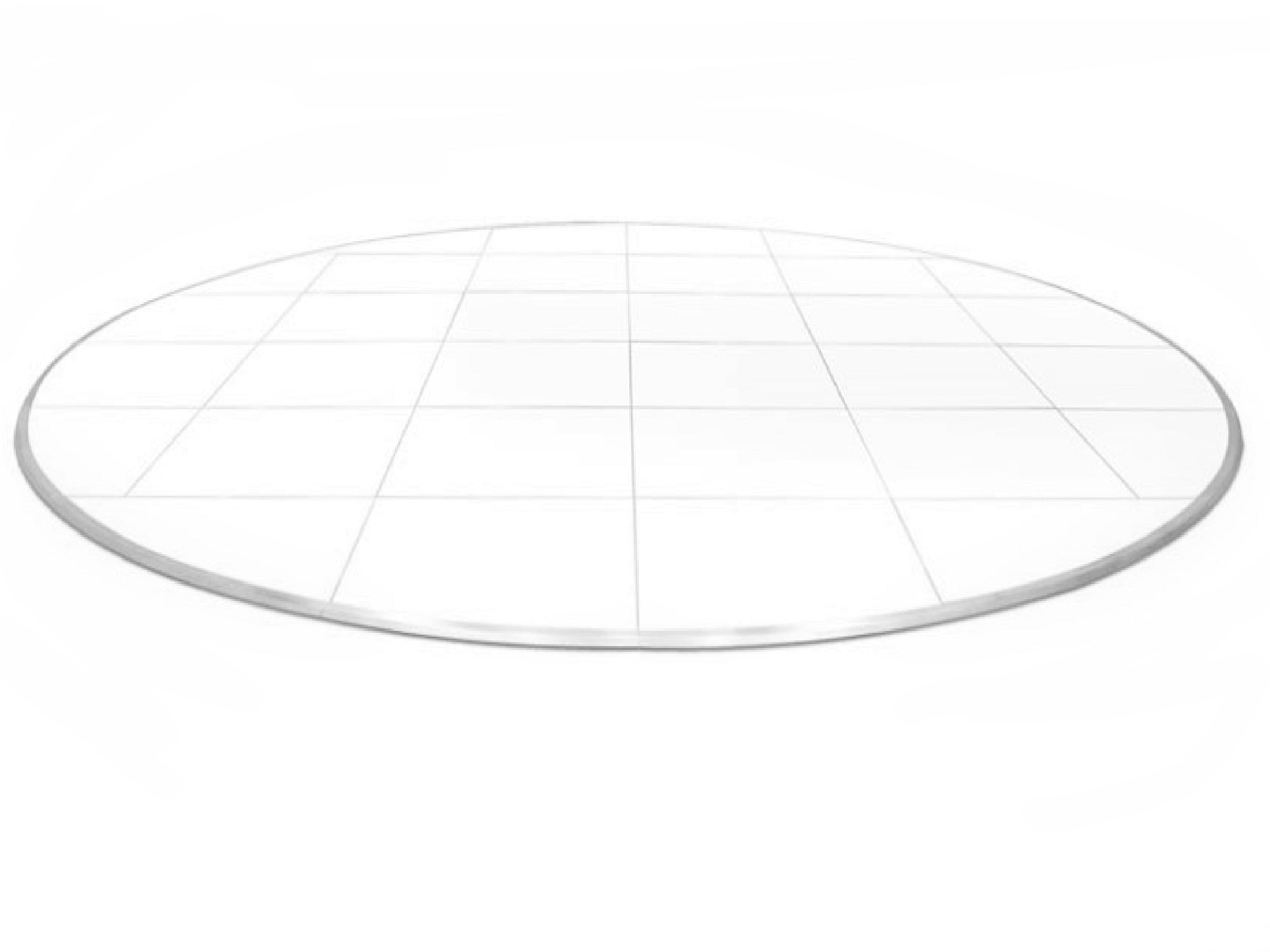ROUND DANCE FLOOR | 24ft  - WHITE