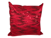 SEQUIN PILLOW - CONTEMPORARY RED