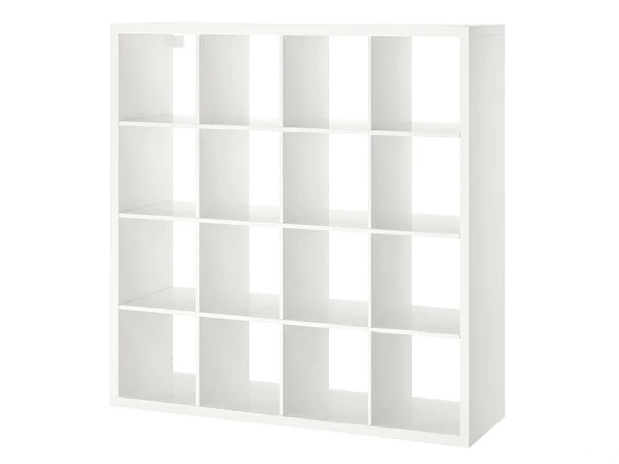 PEACHTREE 16 SLOT DISPLAY UNIT - WHITE