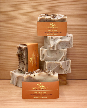 REFRESH   shea butter soap • moroccan moon