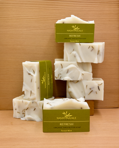 Refresh Organic Shea Butter Soap | Forest Mint