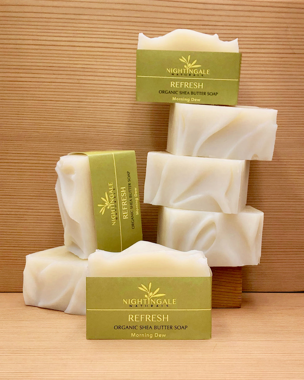 Refresh Organic Shea Butter Soap | Morning Dew