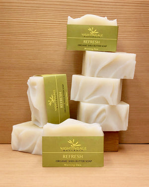 Refresh | Shea Butter Soap | Morning Dew