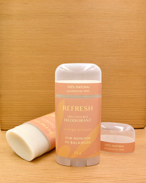 REFRESH | natural deodorant | orange blossom