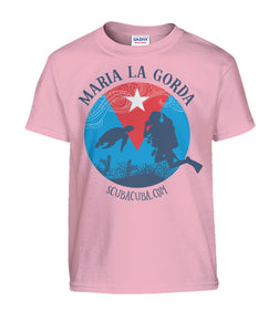 Youth T shirt - Maria la Gorda Turtle