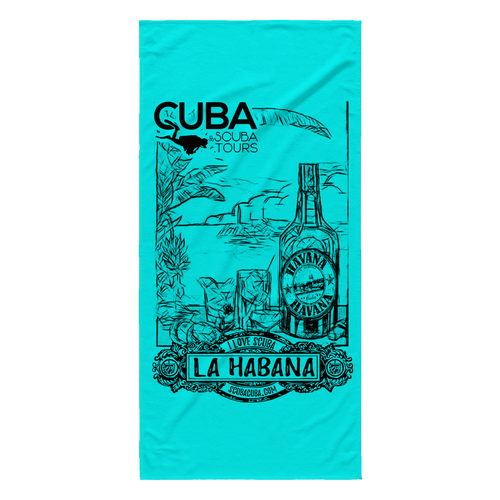 La Habana Beach Towel