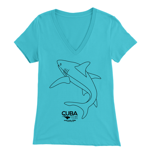 Ladies' Tee - Santa Lucia Shark