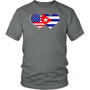 Ladies / Mens T-shirt - We HEART Cuba