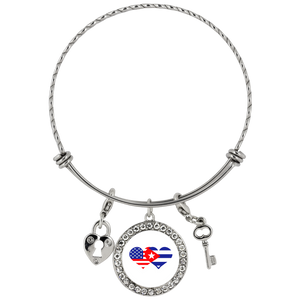 Love is the Key Bracelet - We HEART Cuba
