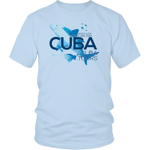 Ladies / Mens T-shirt -  Bull Shark - Sta Lucia