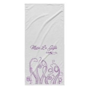 Maria la Gorda Beach Towel - Octopus Tentacles