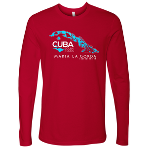 Men's Long Sleeve - Maria la Gorda / Cuba MAP