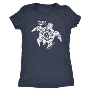 Women's Maria La Gorda White Turtle Tee