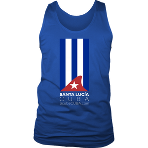 Men's Tank - Santa Lucia Shark Fin Flag