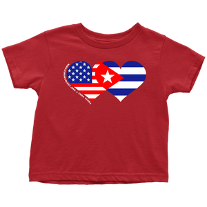 Toddler / Youth T Shirt - We HEART Cuba