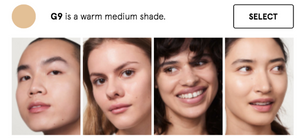 GLOSSIER Perfecting Skin Tint