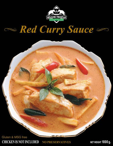 Red Curry Sauce - 35.3(oz) (Feeds ~8 People)