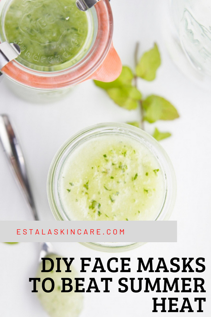 diy face mask cucumber