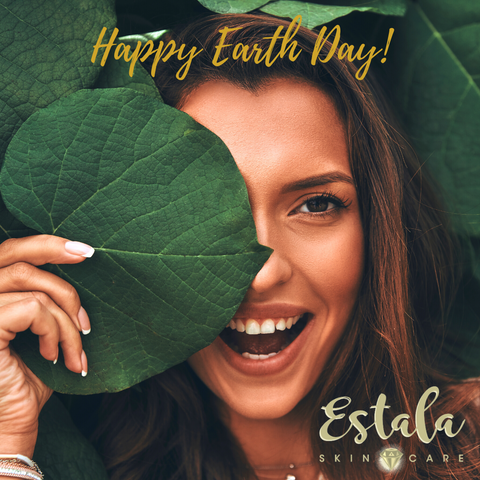 Earth Day Skincare Woman