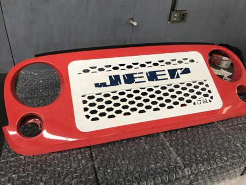 2007-2017 Jeep JK Led Glow Grille Insert - DB Customz