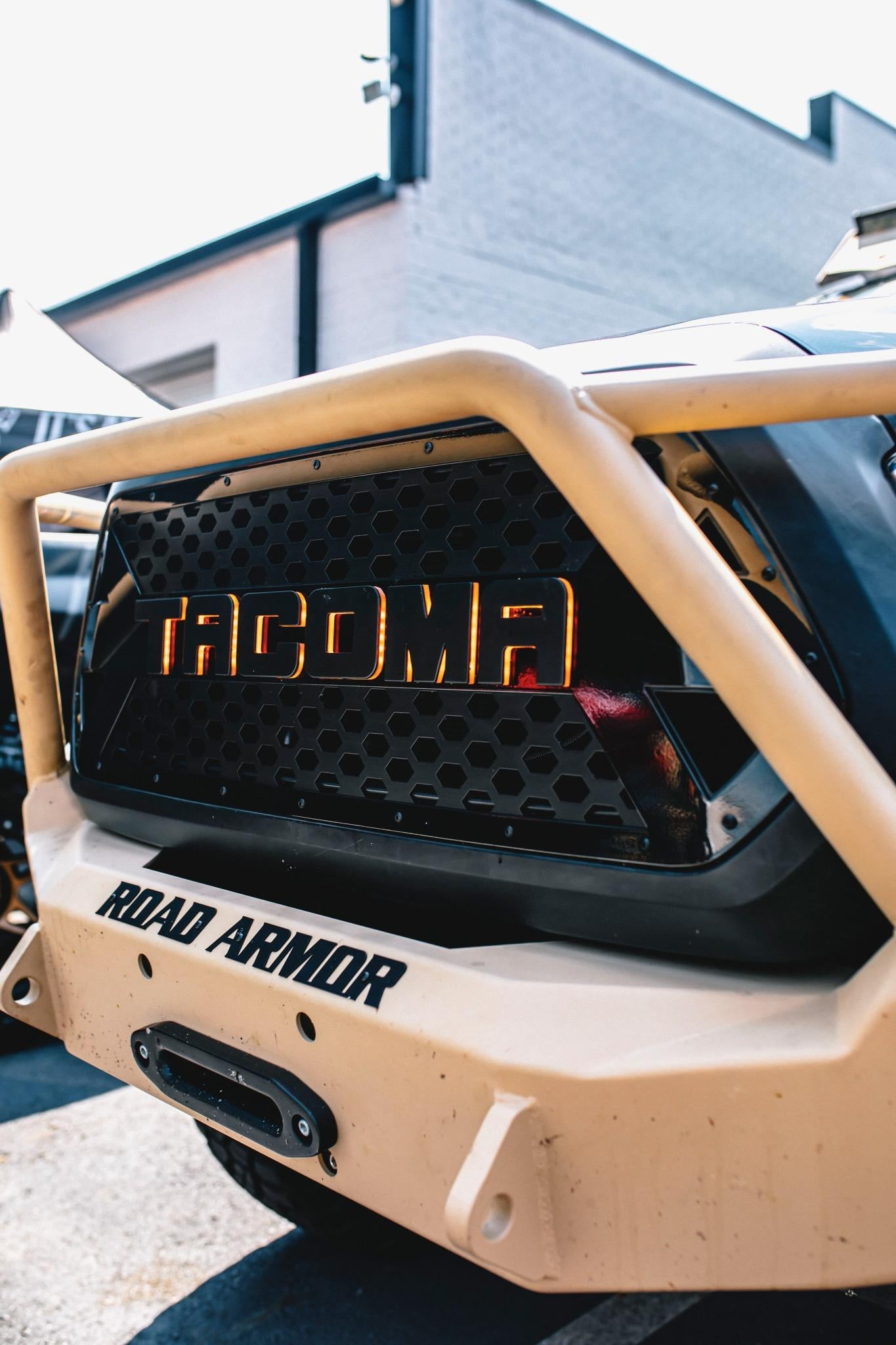 2016 - 2020 Tacoma Drop-In HALO Glow Grille Insert