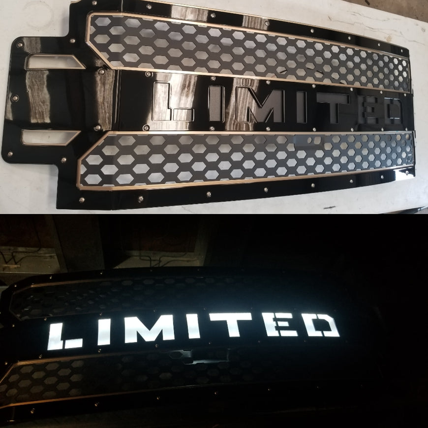 2017+ FORD SUPERDUTY GRILLE INSERT 17FRDV118 - DB Customz Offroad Outfitter