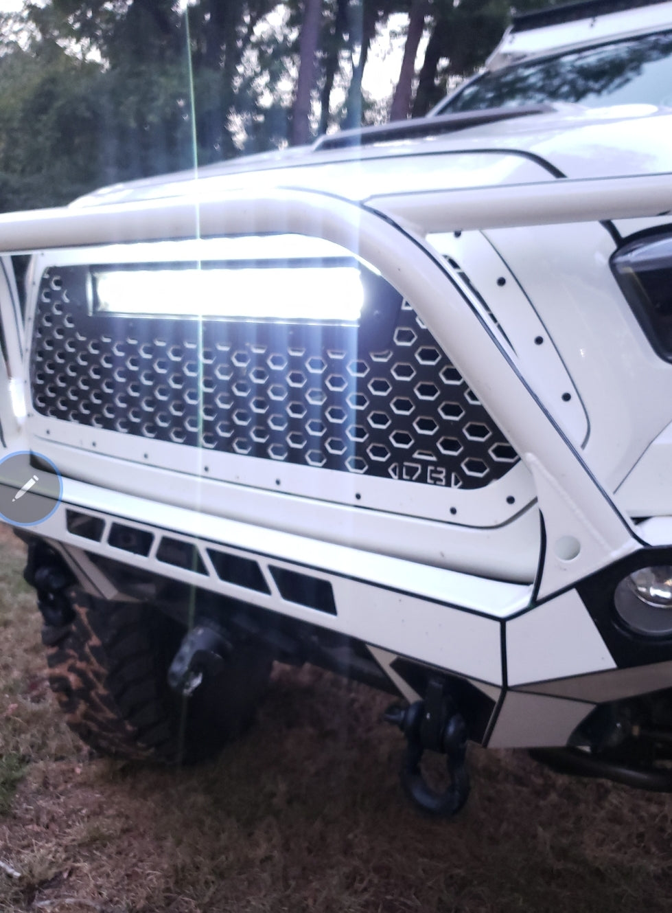 6D Dark Optics LED Light Bar