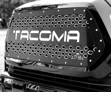 2016+ Tacoma X2 Series Drop-In Grille Insert - DB Customz Offroad Outfitter