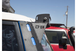 FJ CRUISER LED CURVED BAR PILLAR ALUMINUM PILLAR MOUNTS - DB Customz