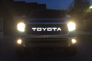 Tundra Grille Insert with Backlit LetteringTUNV