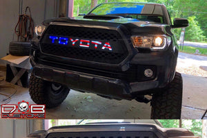 "2016 - 2017 Tacoma Grille Insert ""The Patriot"" 16TACV717 - DB Customz"