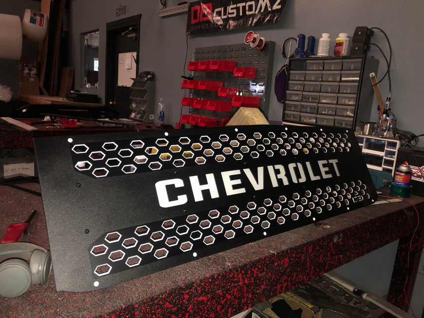 2015 - 2018 Chevy Silverado 2500/3500HD Grille Insert - DB Customz
