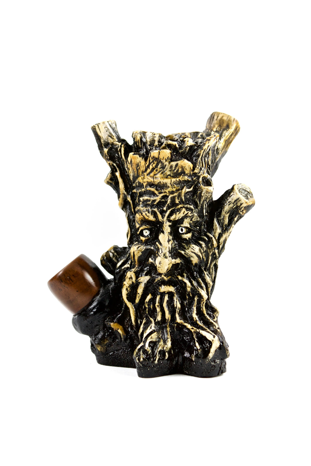 Ceramic Tree Head Hand Pipe