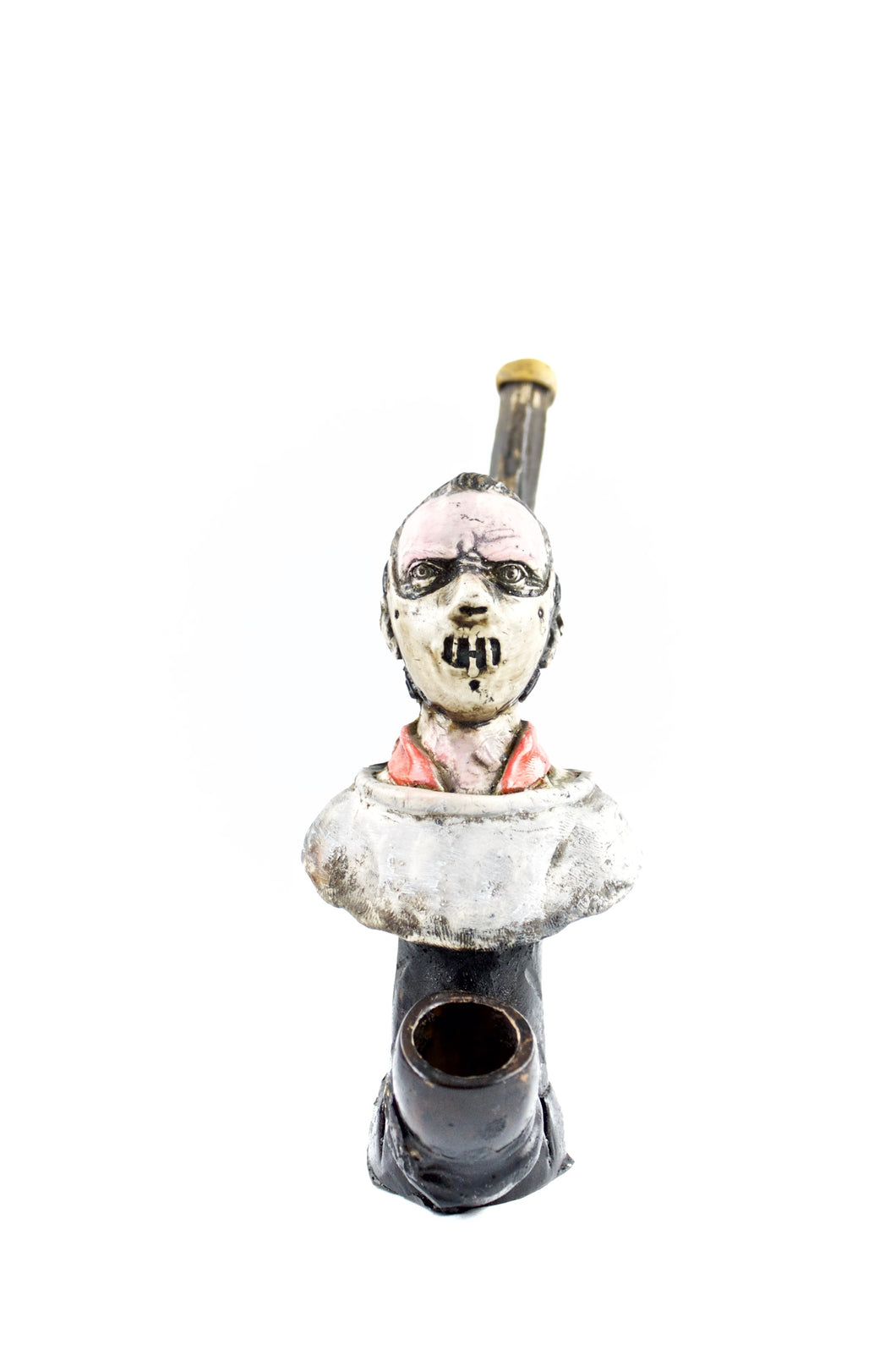 Ceramic Hannibal Lecter Hand Pipe