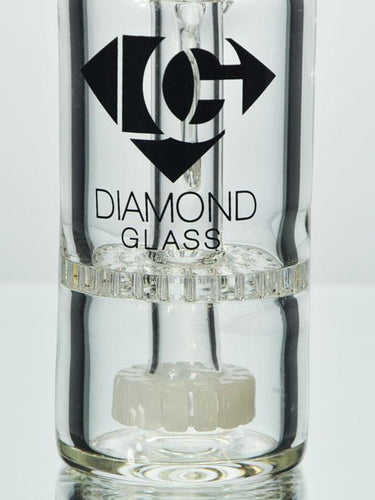 14mm 45 Degree Showerhead Honeycomb Ash Catcher By Diamond Glass