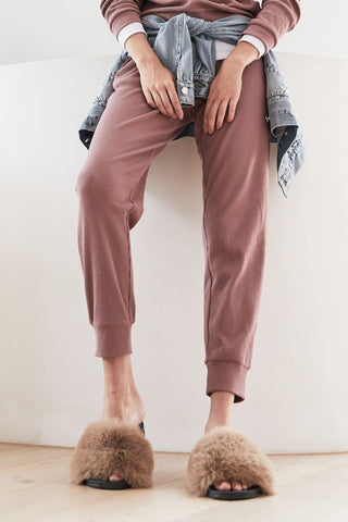 D-Luxe Lounge Waffle Pant