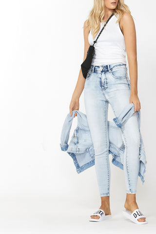 Luxe High Rise Skinny Jean