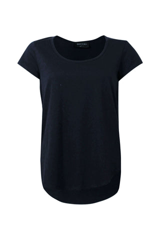 Carrie Scoop Neck Tee