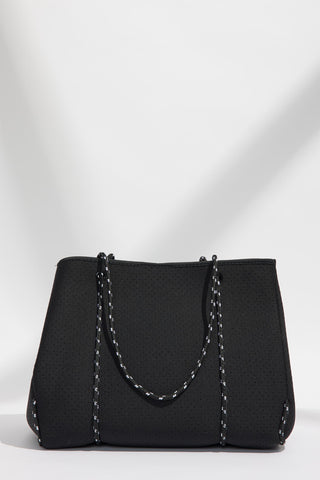 Luxe Punched Neoprene Tote