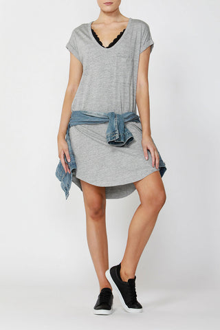 Luxe Boyfriend Tshirt Dress